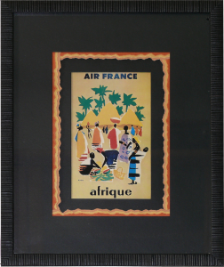 CP Air France - Filets déchirés